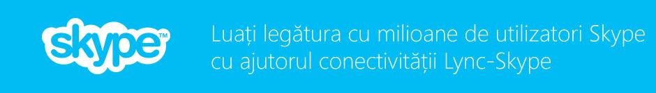 Conectivitatea Lync-Skype