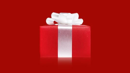 Cumpărați cadouri în perioada sărbătorilor.