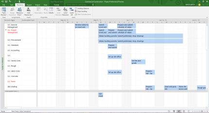 office project planner