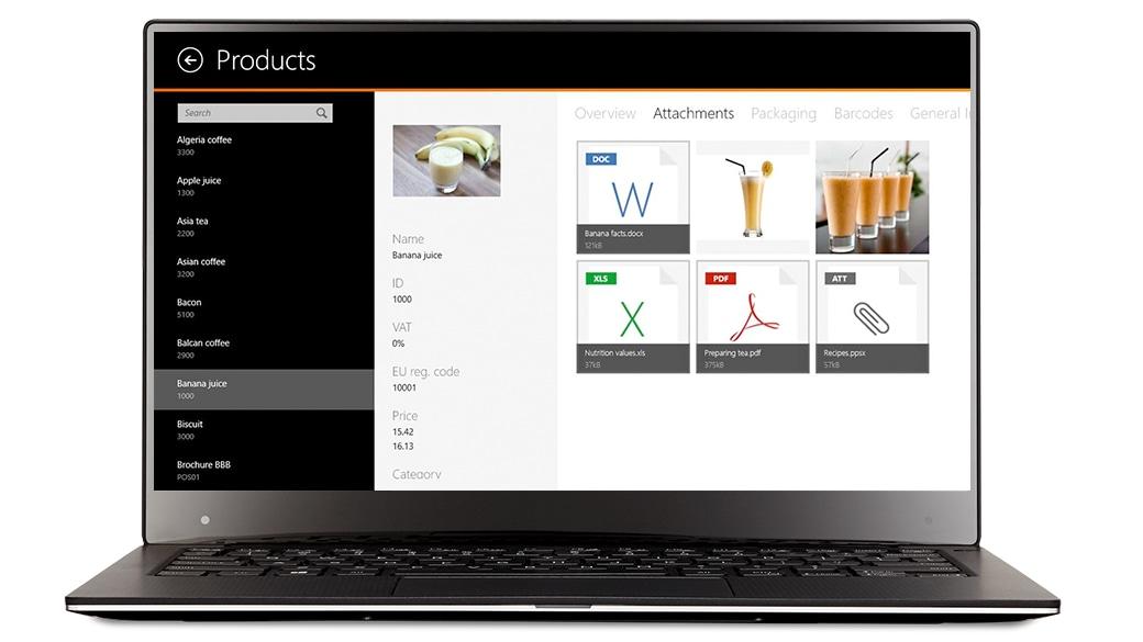 Приложение Visicom SFA на экране устройства