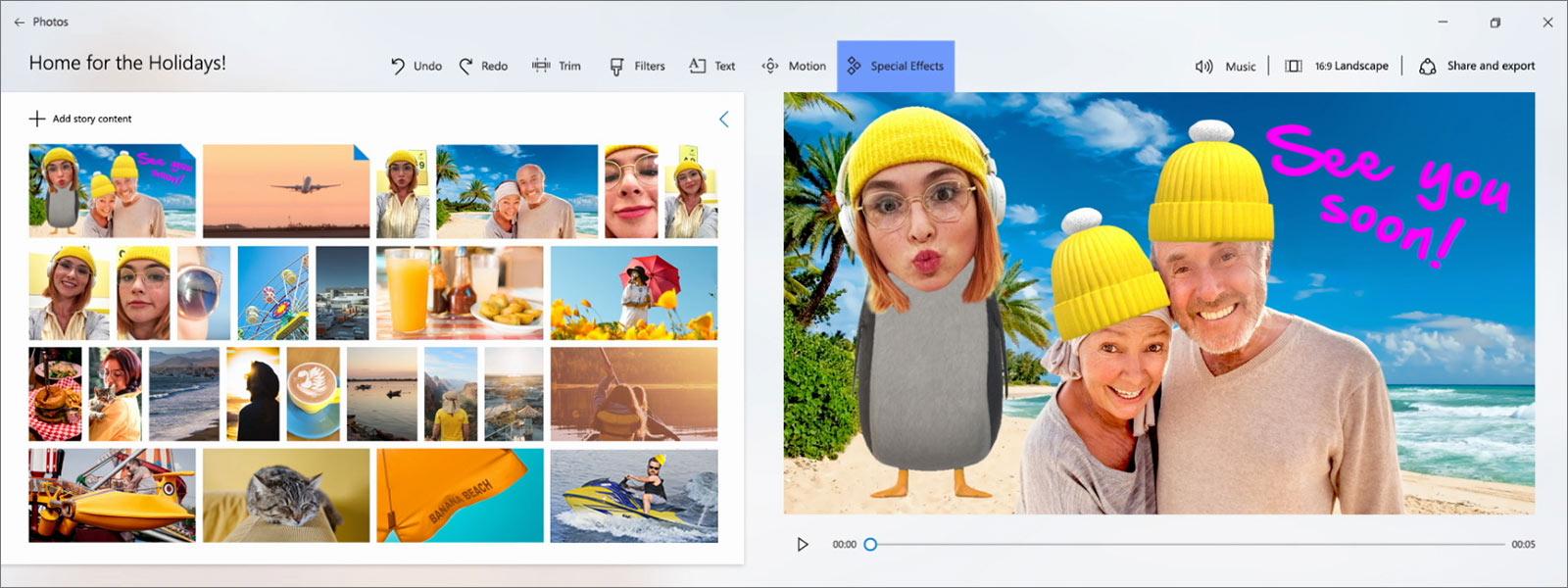 Приложение «Фотографии» в Windows 10