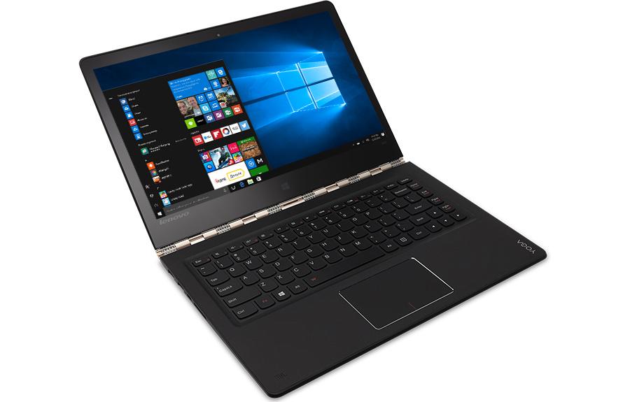 Lenovo Yoga 900 в режиме работы с клавиатурой