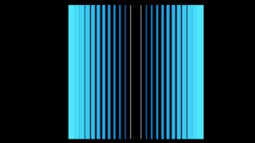 Синие линии на черном фоне