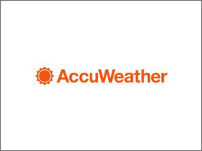 Логотип AccuWeather