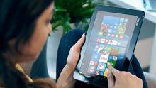 Prenosný počítač Microsoft Windows v režime tabletu