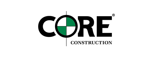 Logo Core Construction, zistite, ako spoločnosť Core Construction používa Project Server na riadenie projektov