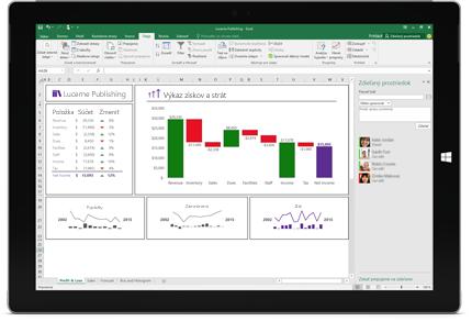 Snímka obrazovky stránky Zdieľať v Exceli s vybratou možnosťou Pozvať ľudí.