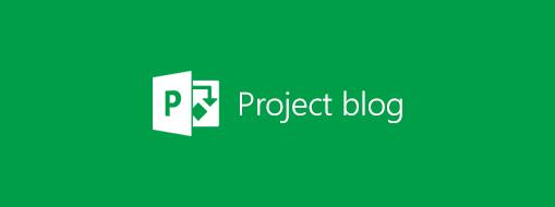 Logo blogu o Projecte, ďalšie informácie o Microsoft Projecte na blogu o Projecte
