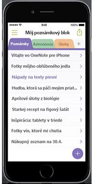 OneNote pre iPhone