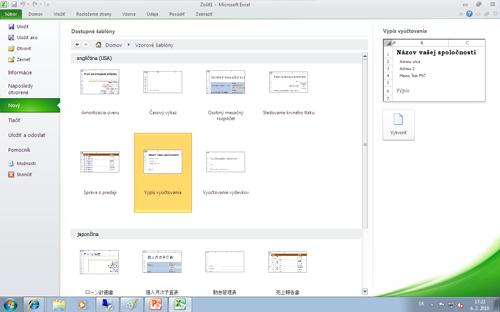 Jazykové balíky Office Language Packs umožňujú získať prístup kbezplatným šablónam balíka Office vjazyku zobrazenia
