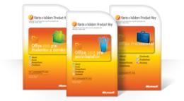 Používanie karty skódom Product Key balíka Office2010