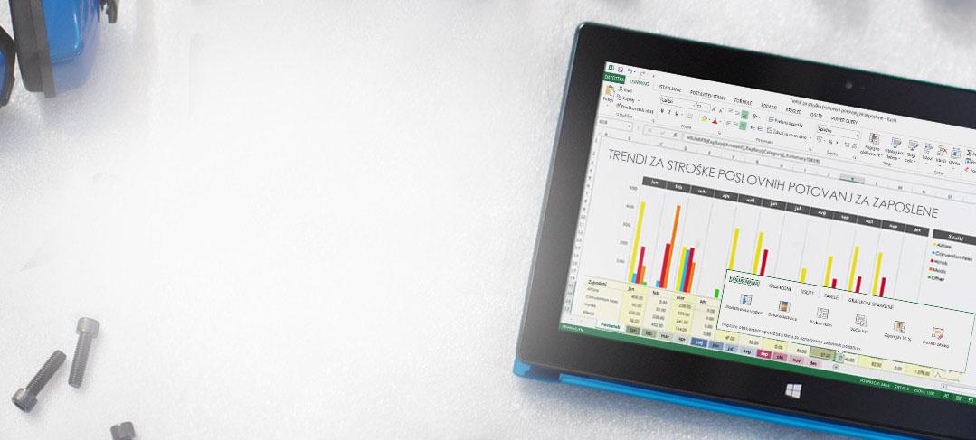 Office 365 – poslovna orodja, na katere se lahko zanesete. Kadar koli in kjer koli.