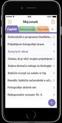OneNote za iPhone