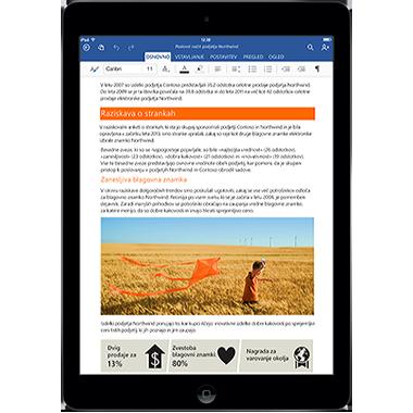 Office za iPad