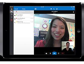Lync 2013 za iPad