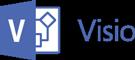 Logotip programa Visio