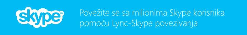 Lync-Skype povezivanje