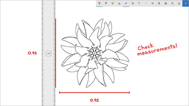 Windows Ink blok za skiciranje