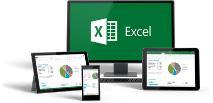 Excel kan användas på alla dina enheter