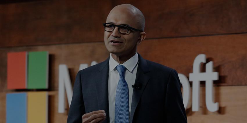 Titta på Satya Nadellas presentation av cybersäkerhet med Microsoft