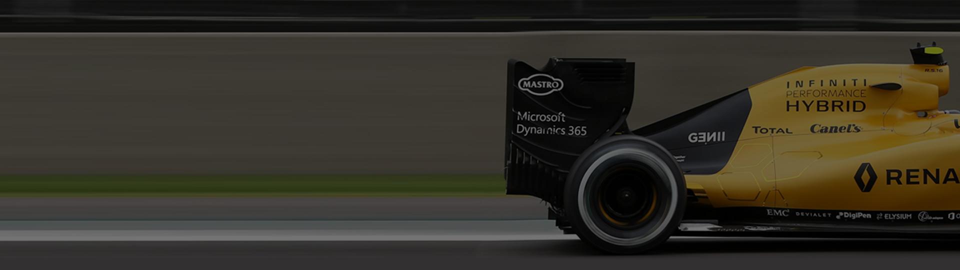 F1-team väljer molntjänster för fart och flexibilitet såväl på som utanför banan