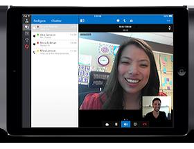 Lync 2013 för iPad
