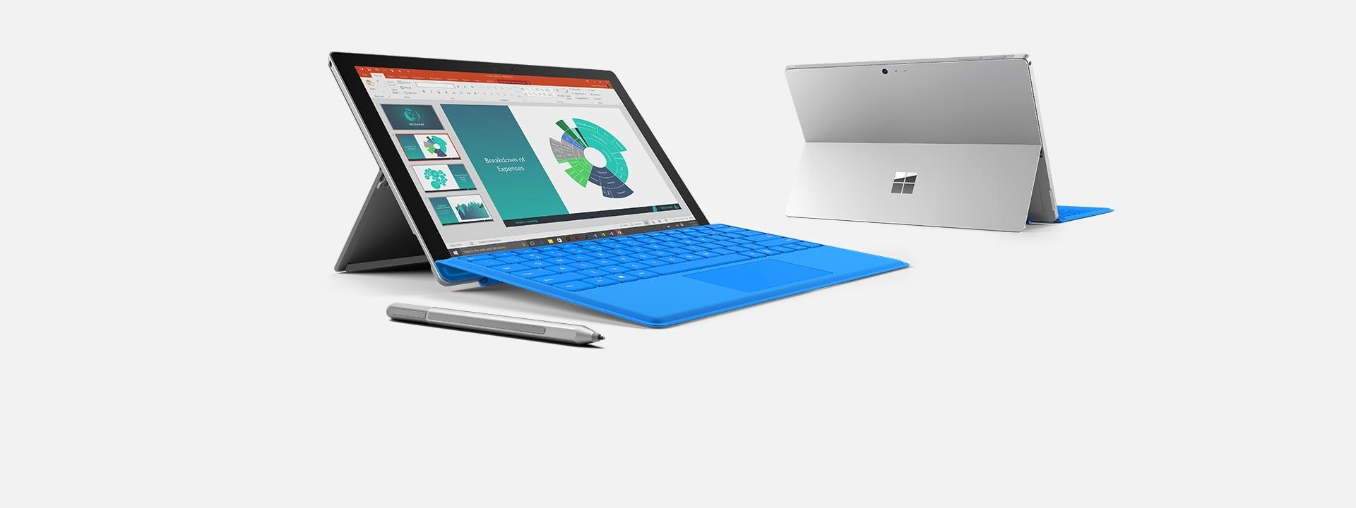 Ta reda på mer om Surface Pro 4-enheterna