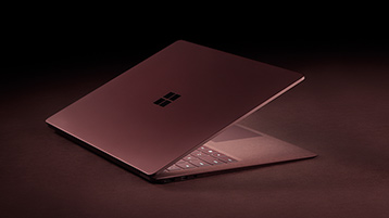 Surface Laptop vinröd