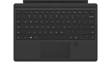 Surface Pro Type Cover med fingeraftryks-id