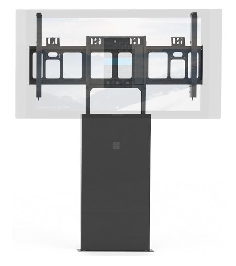 Golvstödsanordning för Surface Hub.