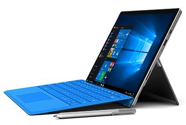 Kommersiell Microsoft Surface Pro 4