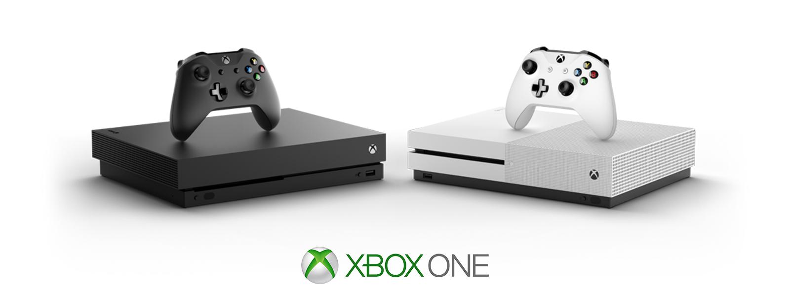 Xbox One X och Xbox One S