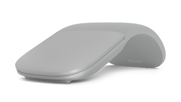 Surface arc mouse gris pâle