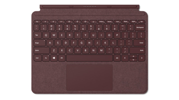 Surface Go Signature Type Cover สีแดงเบอร์กันดี