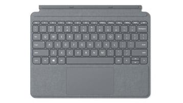 Surface Go Signature Type Cover สีแพลตินัม
