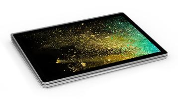 Surface Book 2 ในโหมด Studio