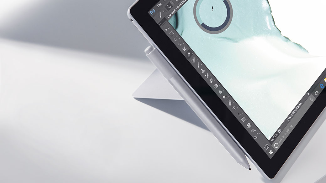 Image of Surface Pro with Dial