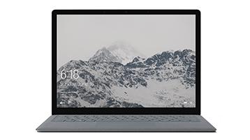 จอแสดงผลของ Surface Laptop