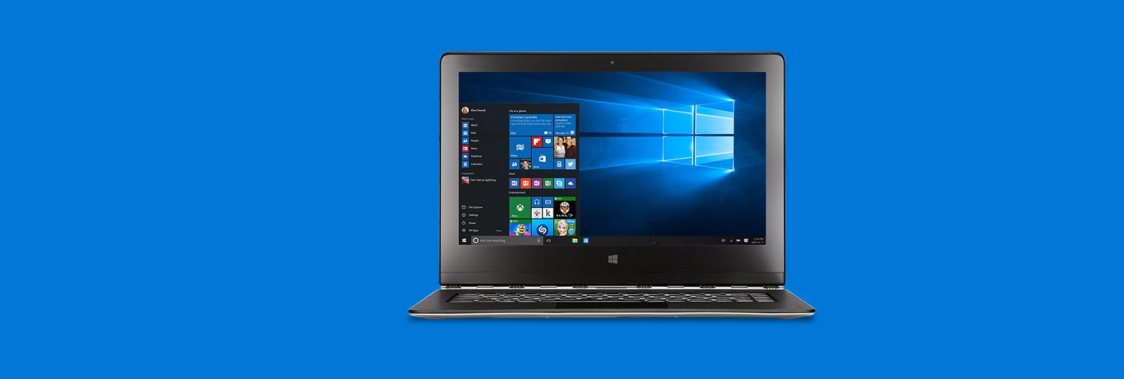 Лучшая на сегодняшний день версия Windows. Воспользуйтесь возможностью бесплатного обновления*.