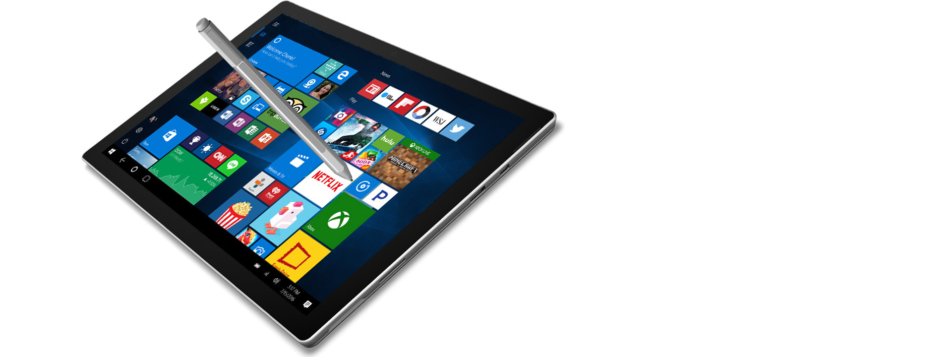 Windows Ink ile Microsoft tablet