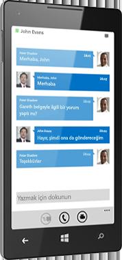 Windows Phone için Lync 2013