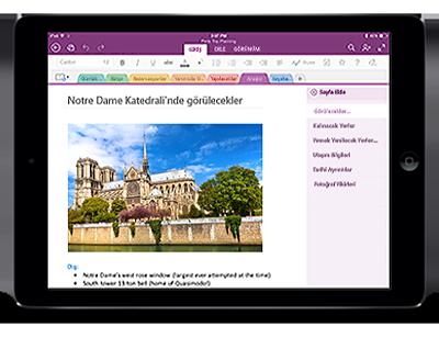 iPad için OneNote