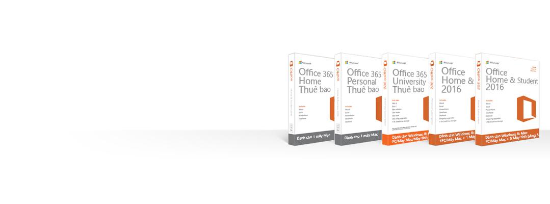 Quản lý, tải xuống, sao lưu hoặc khôi phục sản phẩm Office