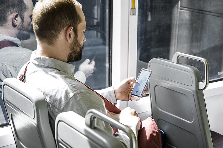 tệp được hiển thị trong OneDrive trên máy tính bảng