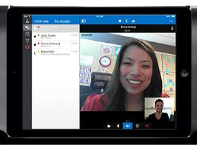 Lync 2013 cho iPad