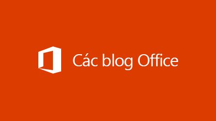 Logo Blog Office, đọc bài viết về Lưu trữ dữ liệu của bên thứ ba trong Office 365