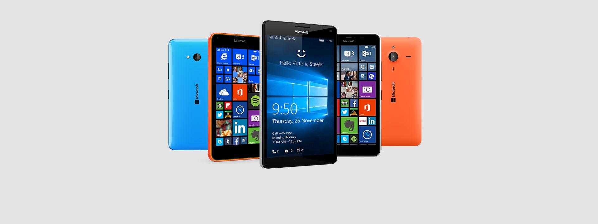 Điện thoại Lumia, tìm một chiếc điện thoại phù hợp với bạn