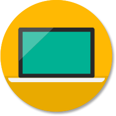 台式计算机图标