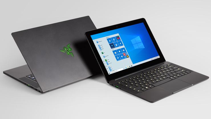 Windows 10 游戏笔记本电脑