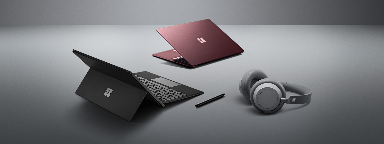 Surface Laptop 2, Surface Pro 6,Surface Headphones